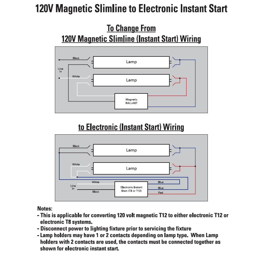 AL_7049] T12 Ballast Wiring Diagram 1 Lamp And 2 Lamp T12Ho Magnetic  Fluorescent Ballast Wiring DiagramsAnist Xolia Mohammedshrine Librar Wiring 101