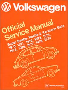 Remarkable Vw Super Beetle Beetle Ghia Service Manual 70 79 Pierside Parts Wiring Cloud Licukaidewilluminateatxorg
