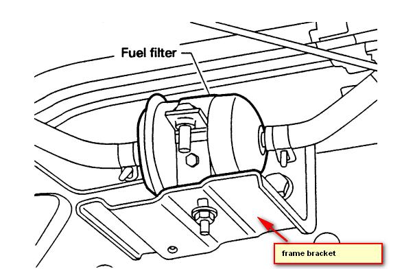 2005 Nissan Altima Fuel Filter Location   Diagram 1998