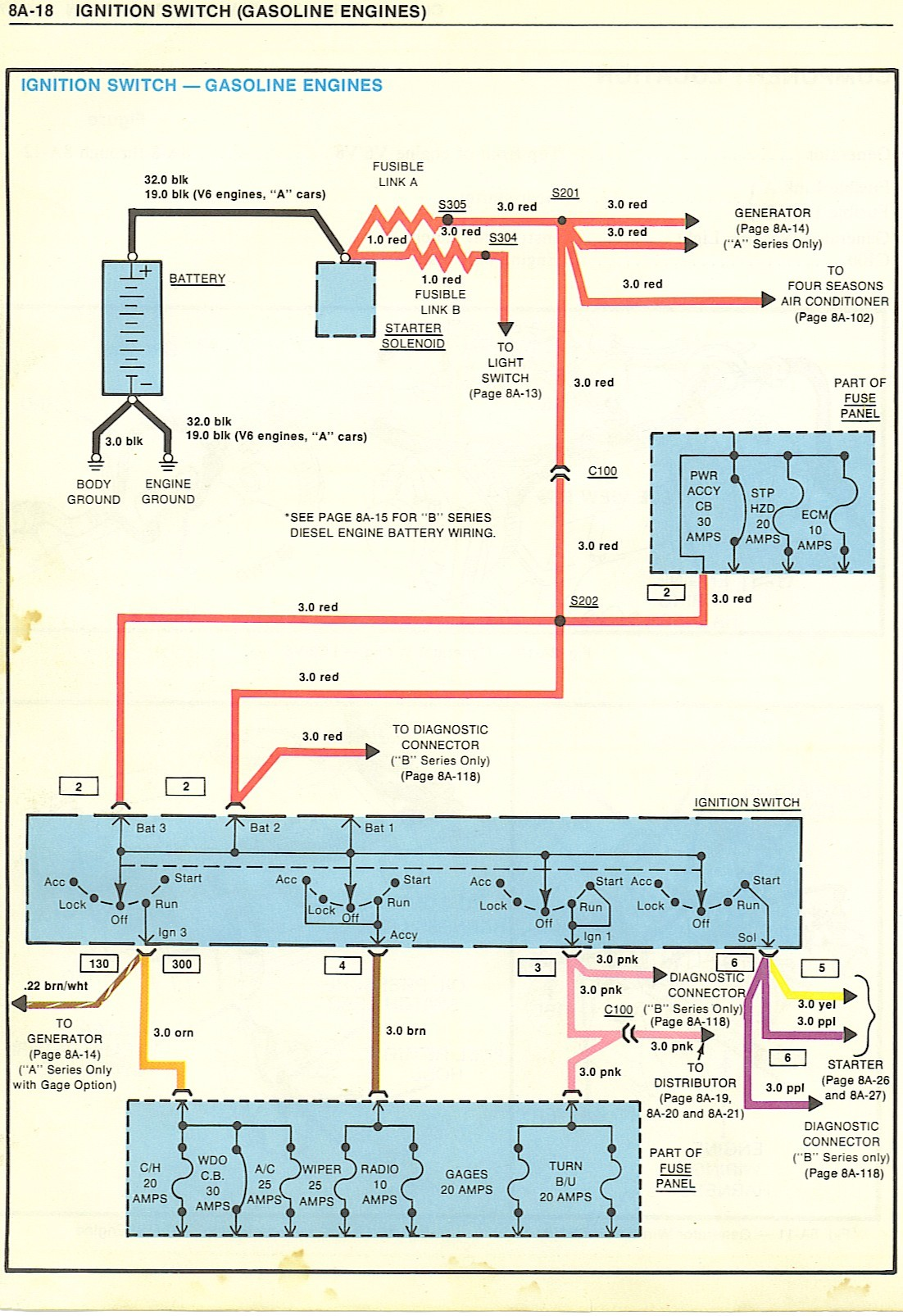 1972 Chevy Truck Ignition Switch Wiring Diagram