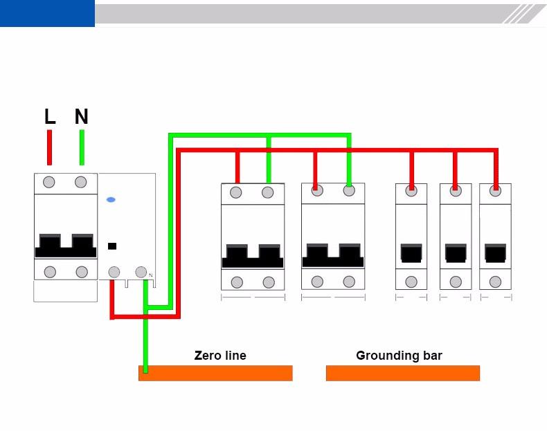 Earth Leakage Circuit Breaker Wiring Diagram