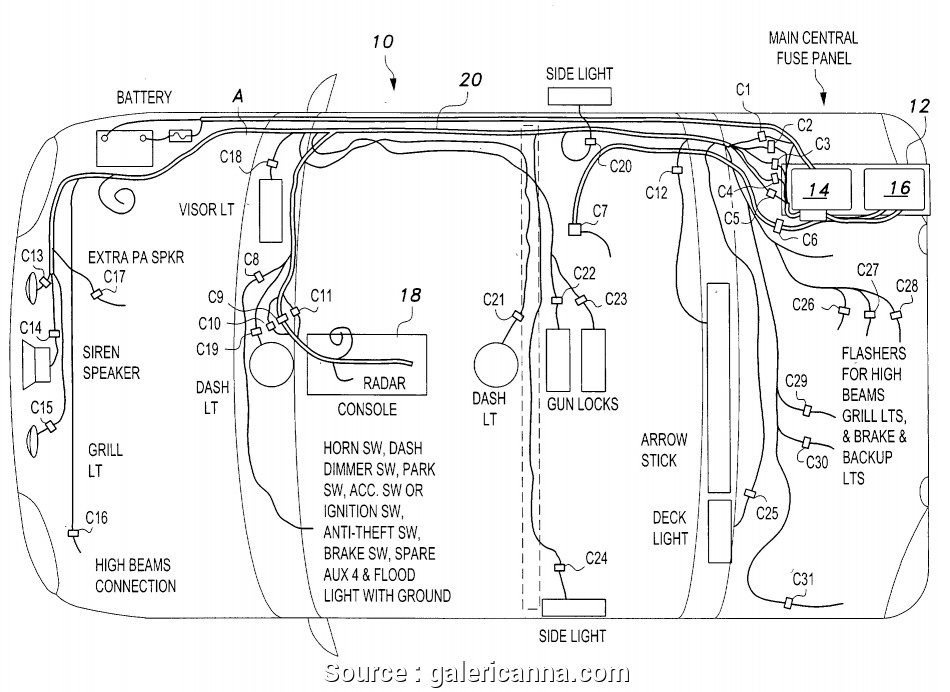 Whelen Light Bar Wiring Diagram - Collection