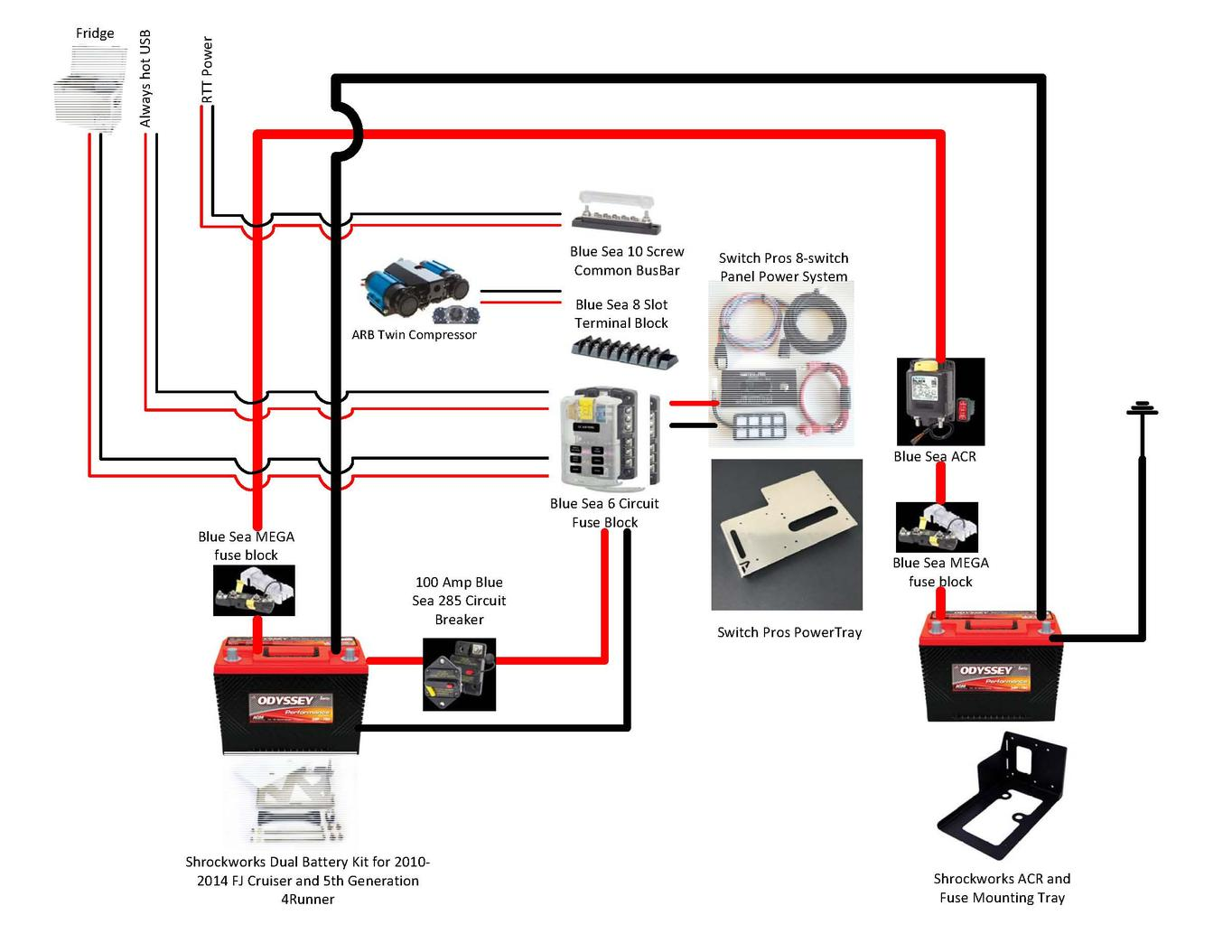 Ad 5961 Dual Battery Wiring Diagram Bus Wiring Diagram