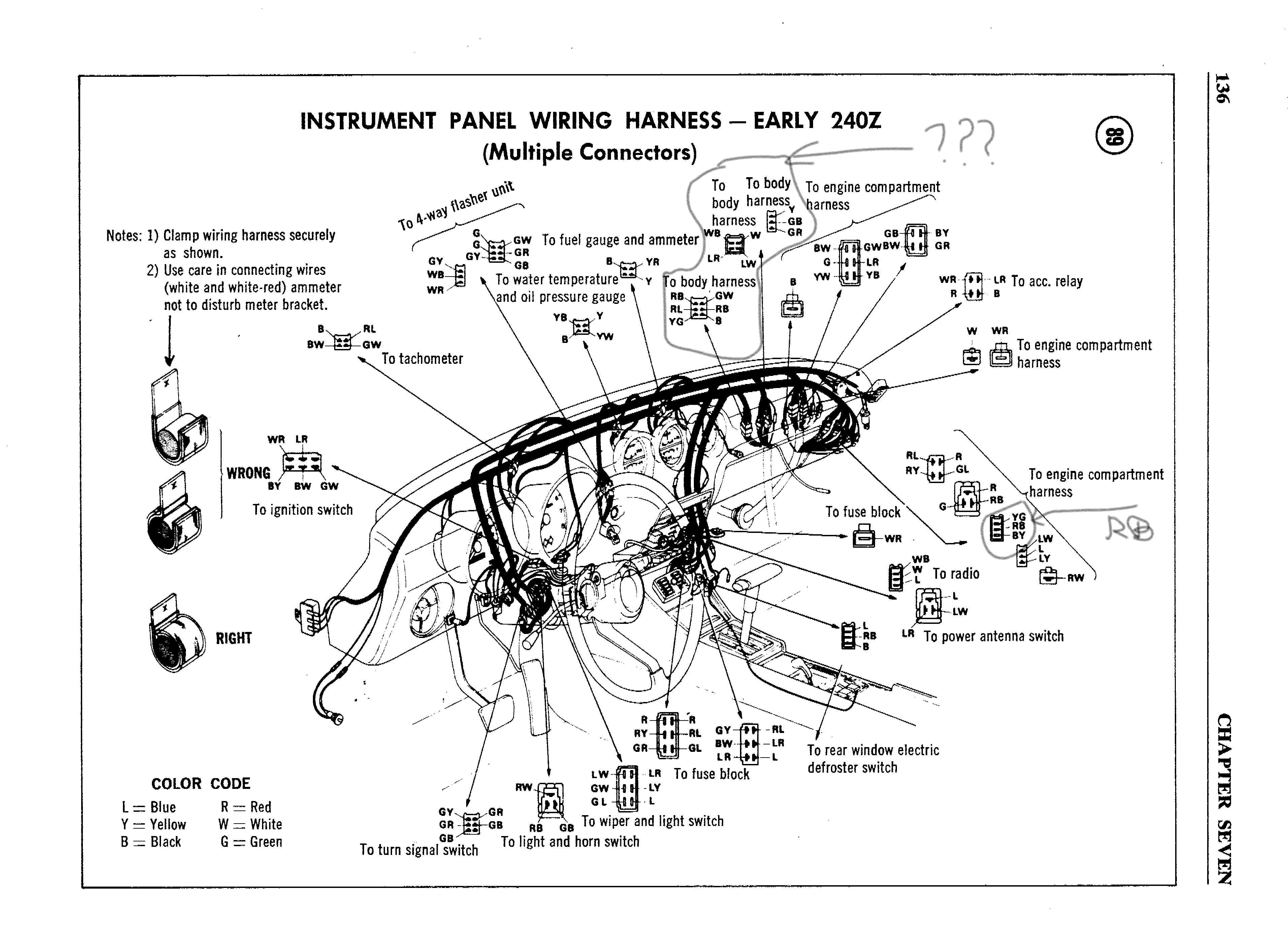 [DIAGRAM_3ER]  AX_3299] 240Z Serie I Color Wiring Diagram Page 2 Electrical Classic Zcar  Free Diagram | 240z Wiring Diagram |  | Targ Eumqu Omit Lotap Mohammedshrine Librar Wiring 101