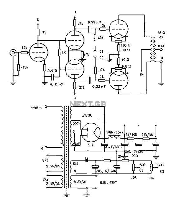 Incredible Vacuum Tube Schematic Diagram Basic Electronics Wiring Diagram Wiring Cloud Waroletkolfr09Org