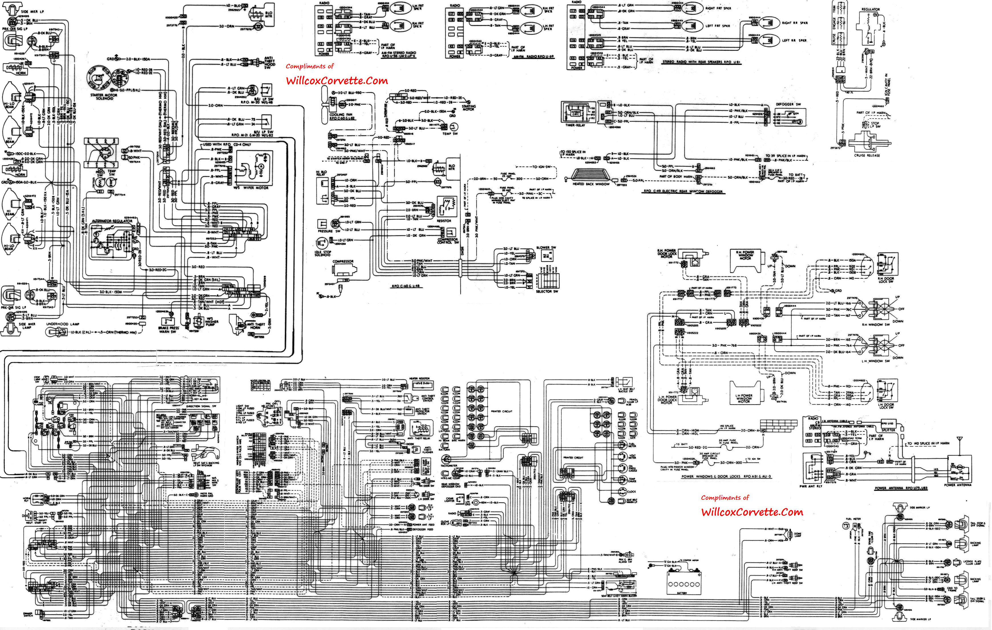 [DIAGRAM_0HG]  TM_8739] Wire Trailer Wiring Diagram Further 79 Corvette Wiring Diagram | 1966 Corvette Wiring Diagram Pdf |  | Loida Umng Mohammedshrine Librar Wiring 101