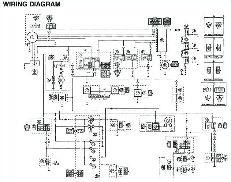 2013 yamaha atv wiring diagrams  center wiring diagram site