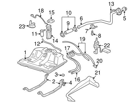 TR_2983 Chevy S10 Fuel Line Free Diagram