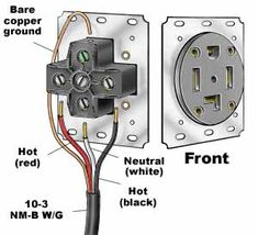 Astounding How To Wire A 220V Outlet Diagram Basic Electronics Wiring Diagram Wiring Cloud Dulfrecoveryedborg
