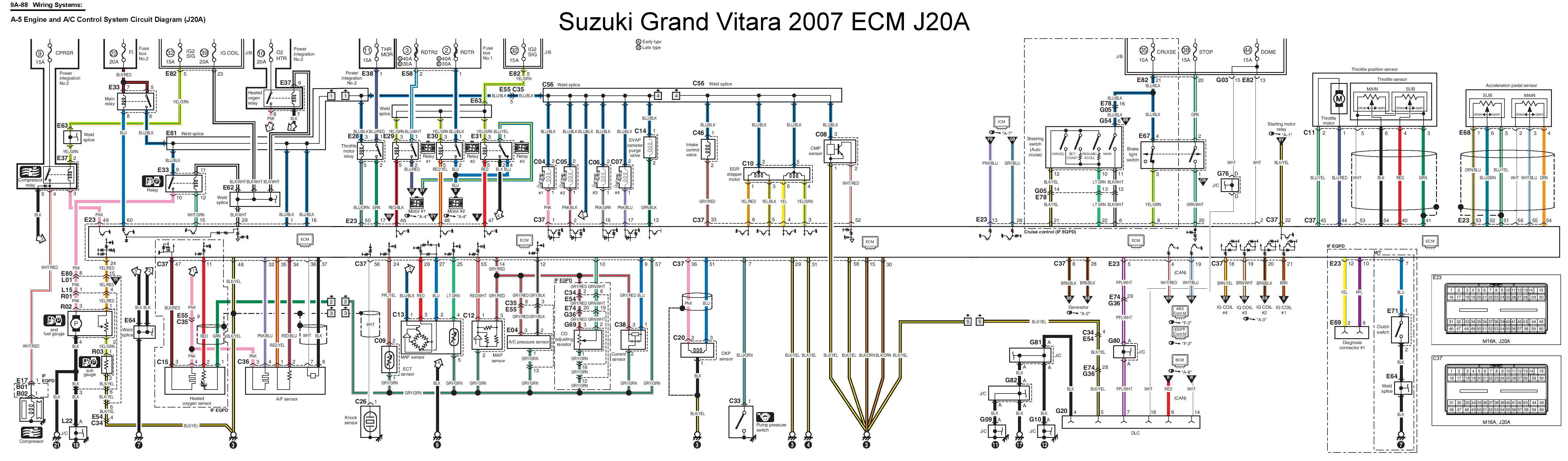 Suzuki Sx4 O2 Sensor Wiring Diagram