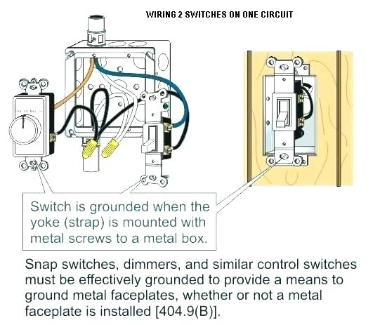 Light Switches And Switch Fan