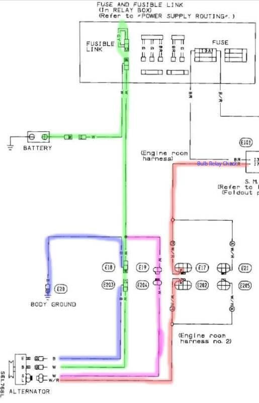 Fantastic Nissan Alternator Wiring Diagram Basic Electronics Wiring Diagram Wiring Cloud Apomsimijknierdonabenoleattemohammedshrineorg