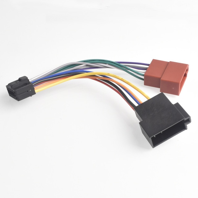 New 16 Pin AUTO STEREO WIRE HARNESS PLUG for PIONEER DEH-X6700BS Player