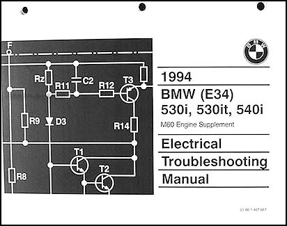 Bmw E34 540i Wiring Diagram - Wiring Diagram