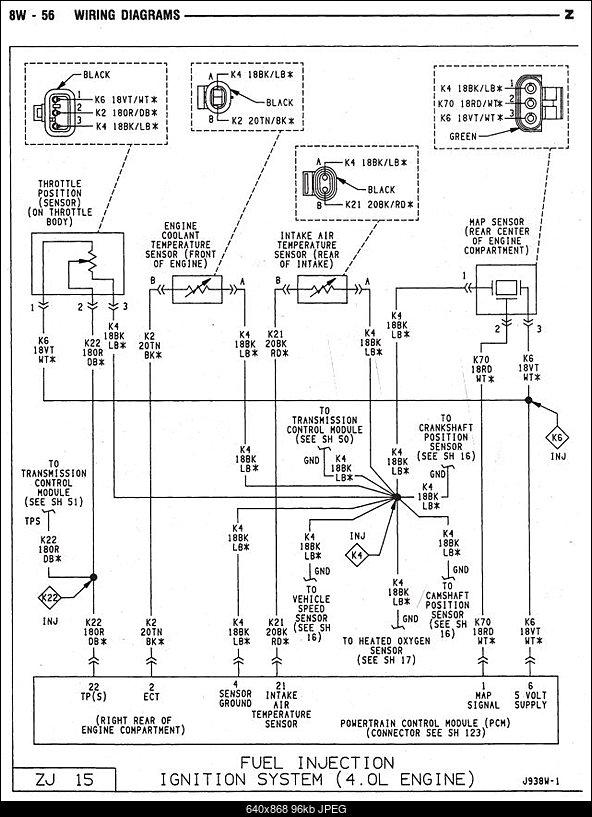 Jeep Xj Fuel Pump Wiring Diagram