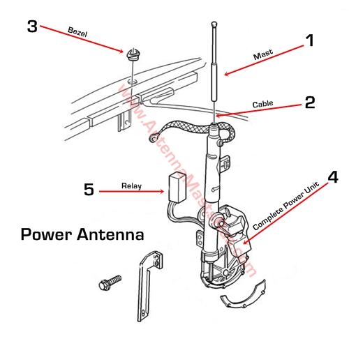xa3918 94 accord power antenna wiring diagram wiring diagram