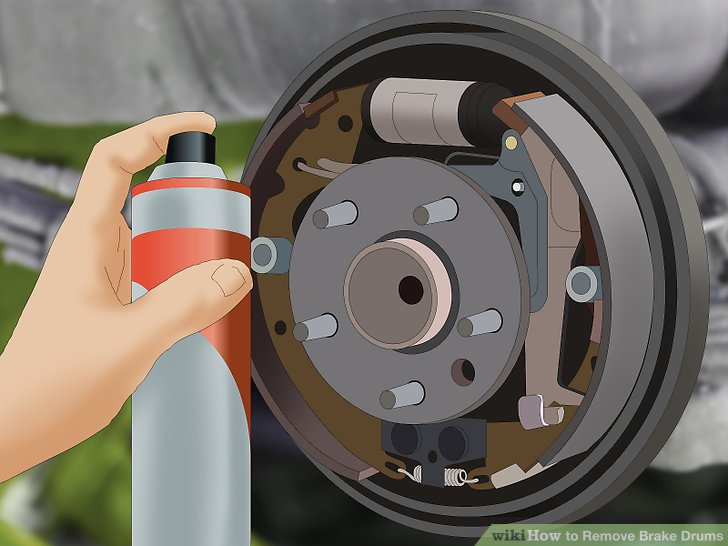 Amazing How To Remove Brake Drums 15 Steps With Pictures Wikihow Wiring Cloud Rineaidewilluminateatxorg