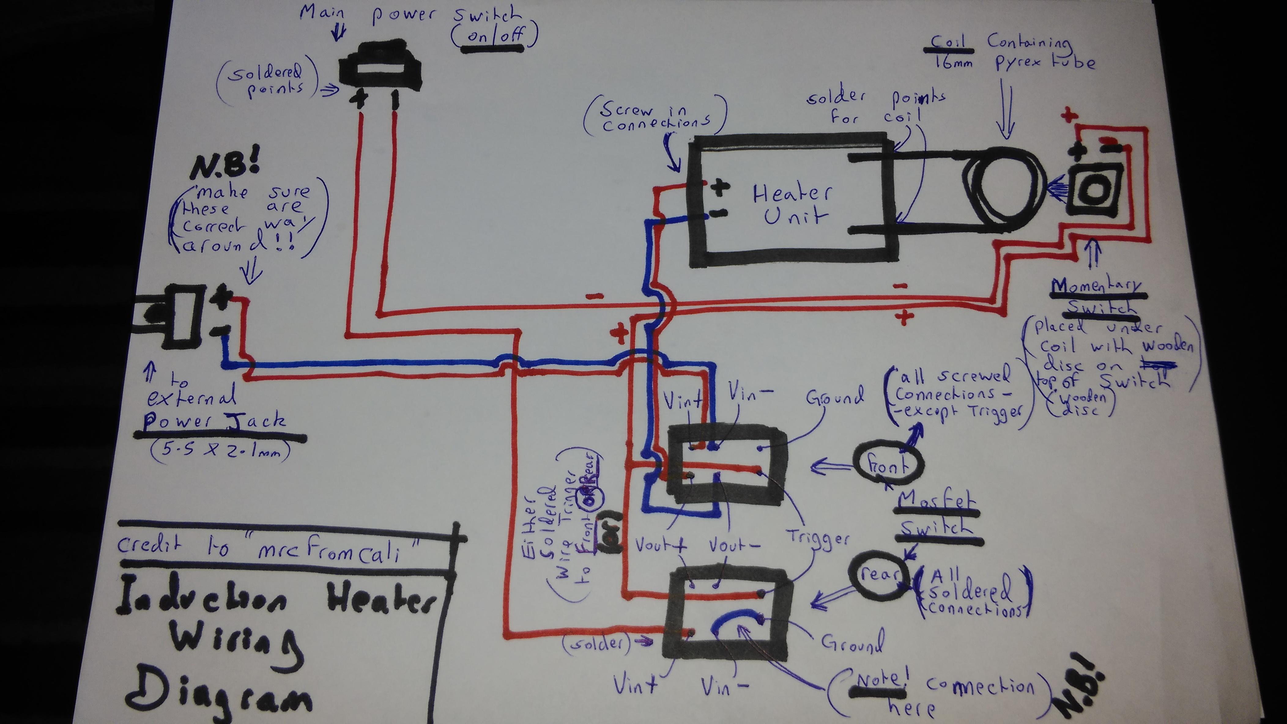 Brilliant Simple Wiring Diagram For Desktop Induction Heater Vaporents Wiring Cloud Picalendutblikvittorg