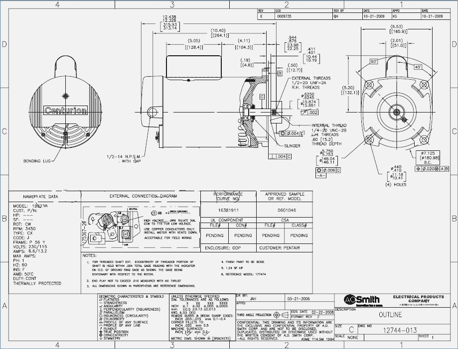 3 Phase Motor Wiring Diagram 9 Leads