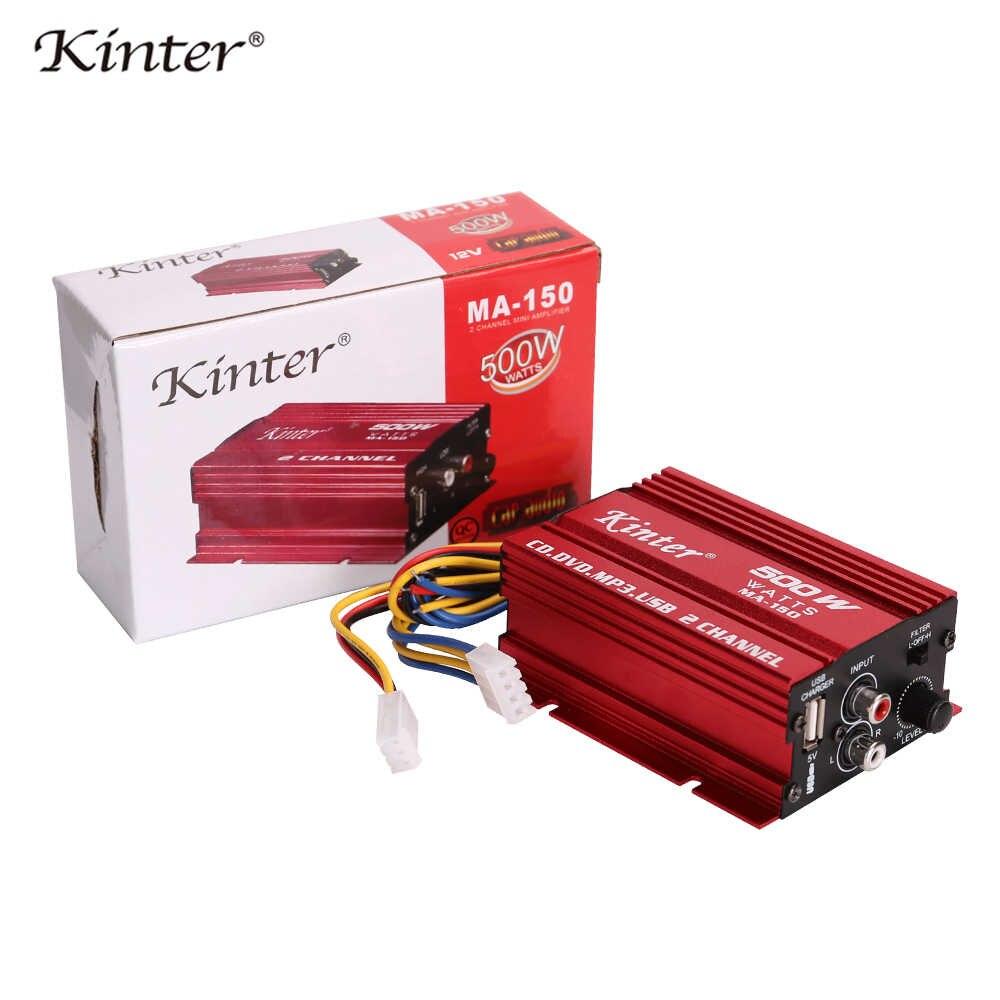 Road Rage 150 Watt 2-Channel Mini High Power Amplifier Car Amp Free shipping