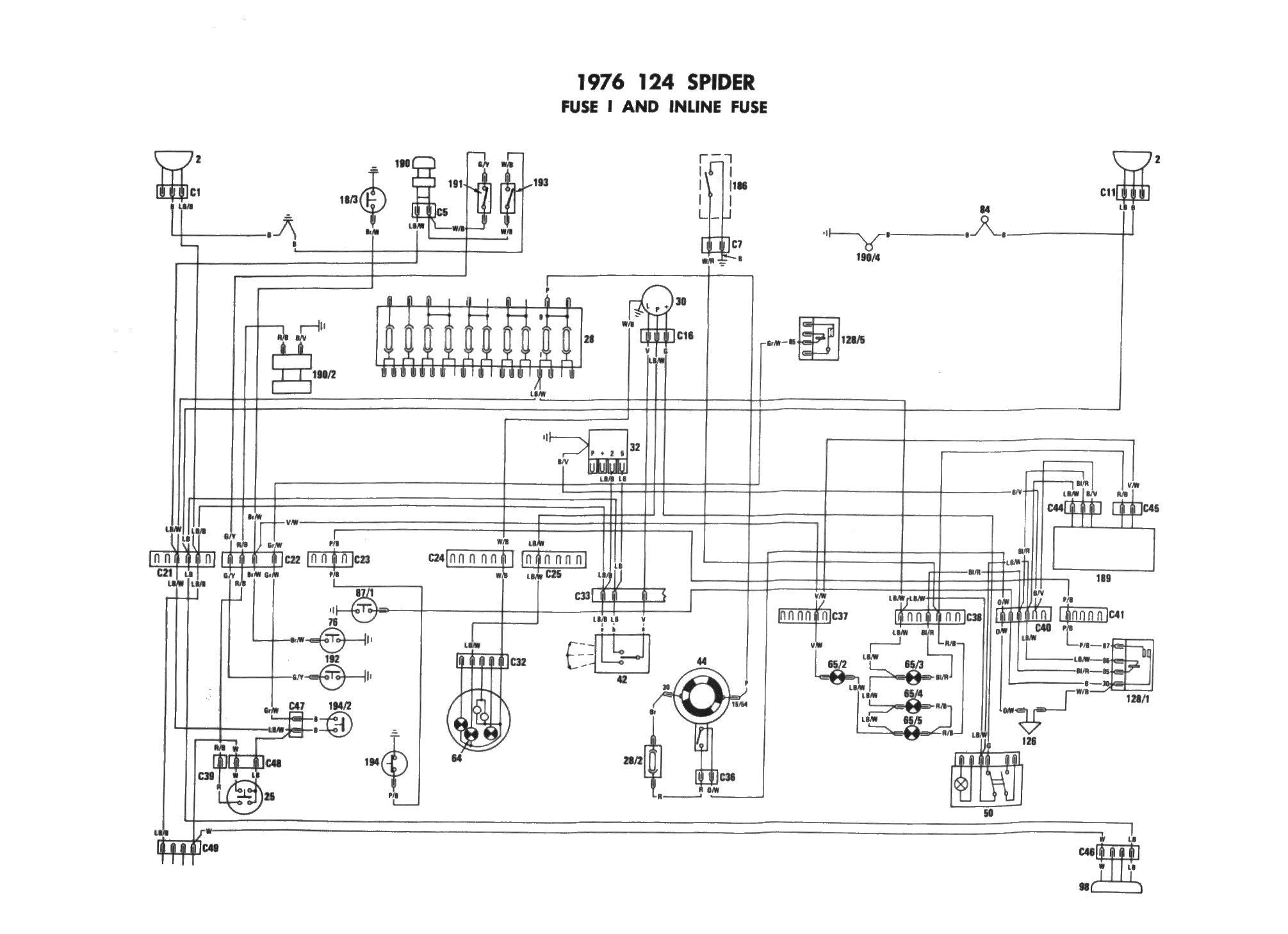 1973 Fiat Wiring Diagram | flower-temper Wiring Diagram Table -  flower-temper.rodowodowe.eurodowodowe.eu