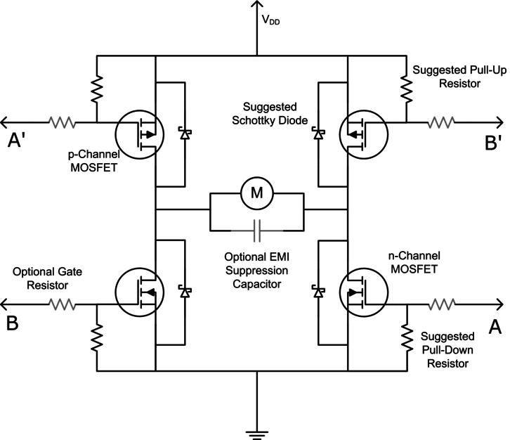 Remarkable Ab 002 Discrete H Bridge For Enhanced Vibration Control Wiring Cloud Onicaxeromohammedshrineorg