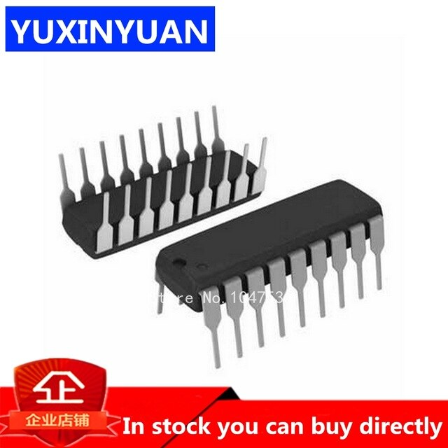10Pcs SOP 20 Pin L293DD Stmicroelectronics For Stepper Motor Driver Module
