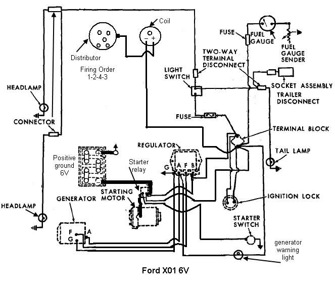 Wiring Diagram 8n 6 Volt
