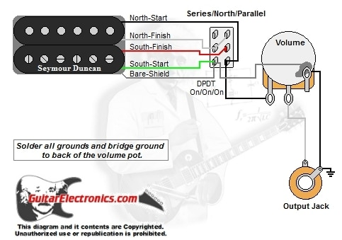 RD_6033] Com Guitar Wiring Diagram 1 Humbucker 1 Volume Seriessouthparallel Schematic  WiringPhot Nnigh Inama Wiluq Pap Mohammedshrine Librar Wiring 101