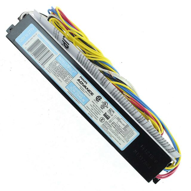 Awesome T12 Ballast Philips Advance 2 Bulb Electronic 40W 120 277V For Sale Wiring Cloud Timewinrebemohammedshrineorg