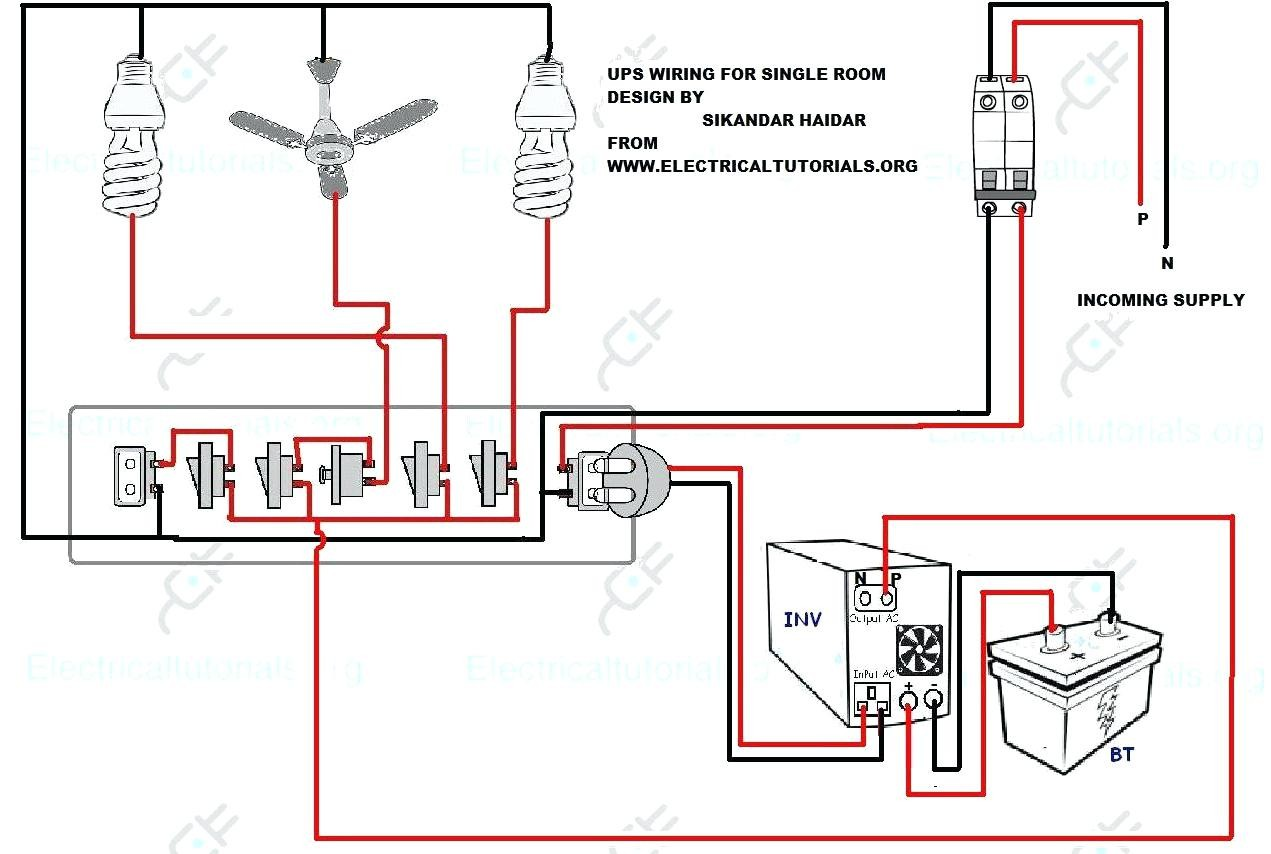 Inverter Connection In House Wiring Diagram