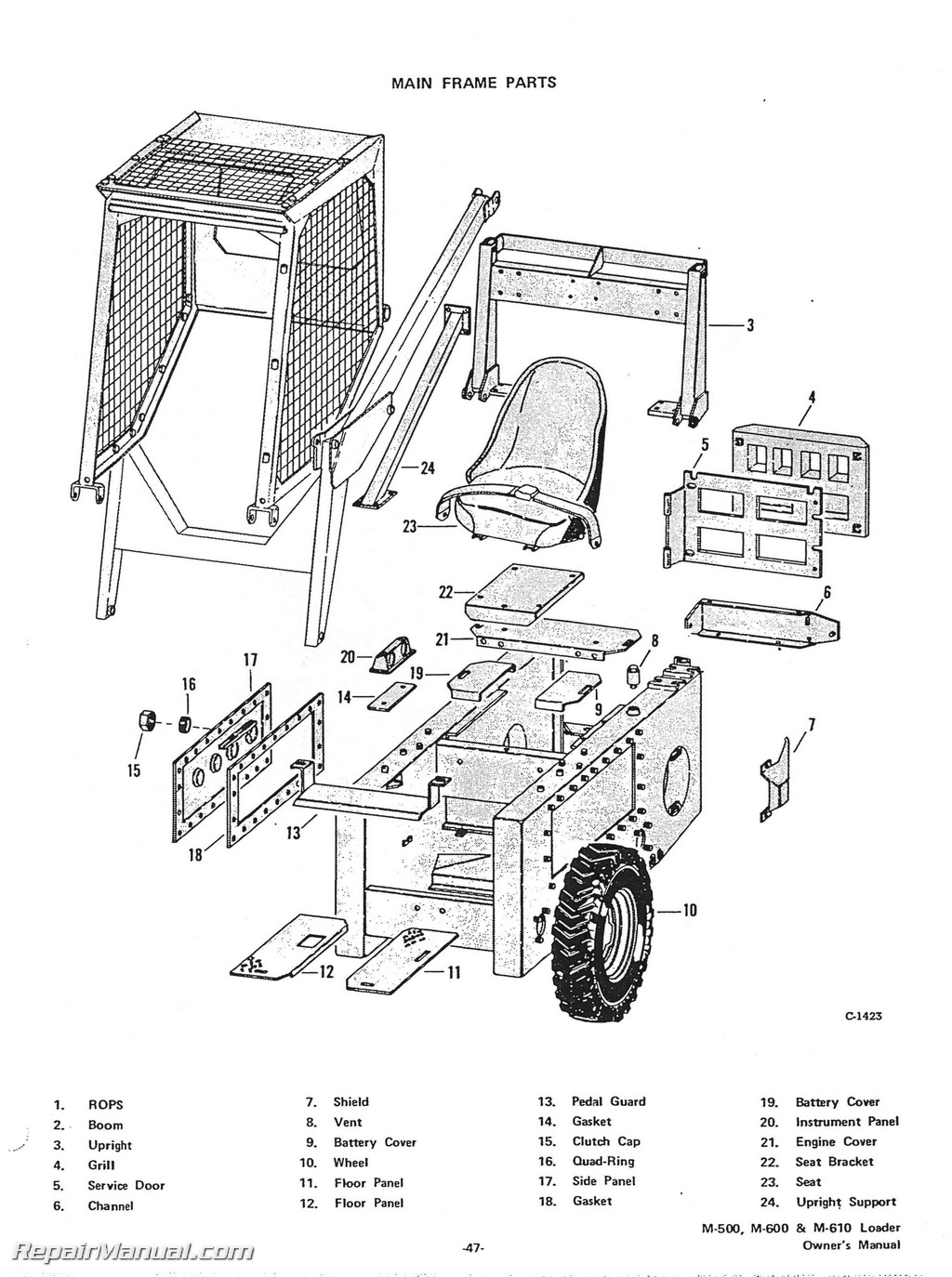 GD_7537] Bobcat 1812 Parts Diagram Free DiagramLite Vell Rele Mohammedshrine Librar Wiring 101