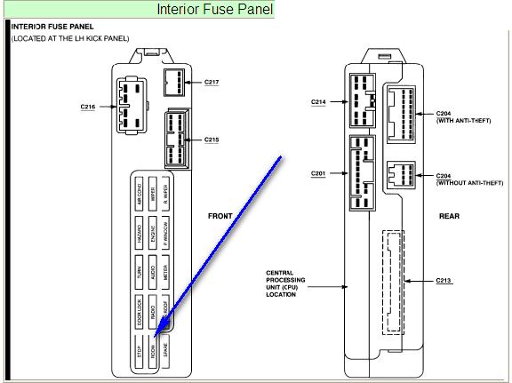 1994 ford probe engine diagram fuse box diagram 1996 ford probe gt blog wiring diagram  fuse box diagram 1996 ford probe gt
