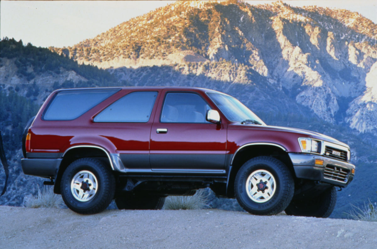 Admirable Ace Of Base Retro 1990 Toyota 4Runner The Truth About Cars Wiring Cloud Filiciilluminateatxorg