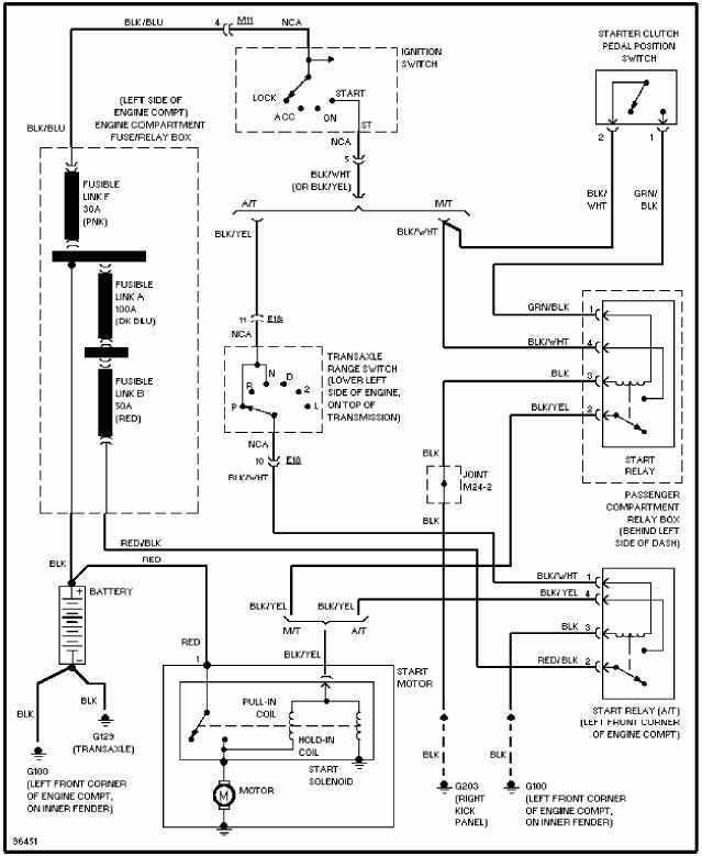 Hyundai Excel X3 Wiring Diagram