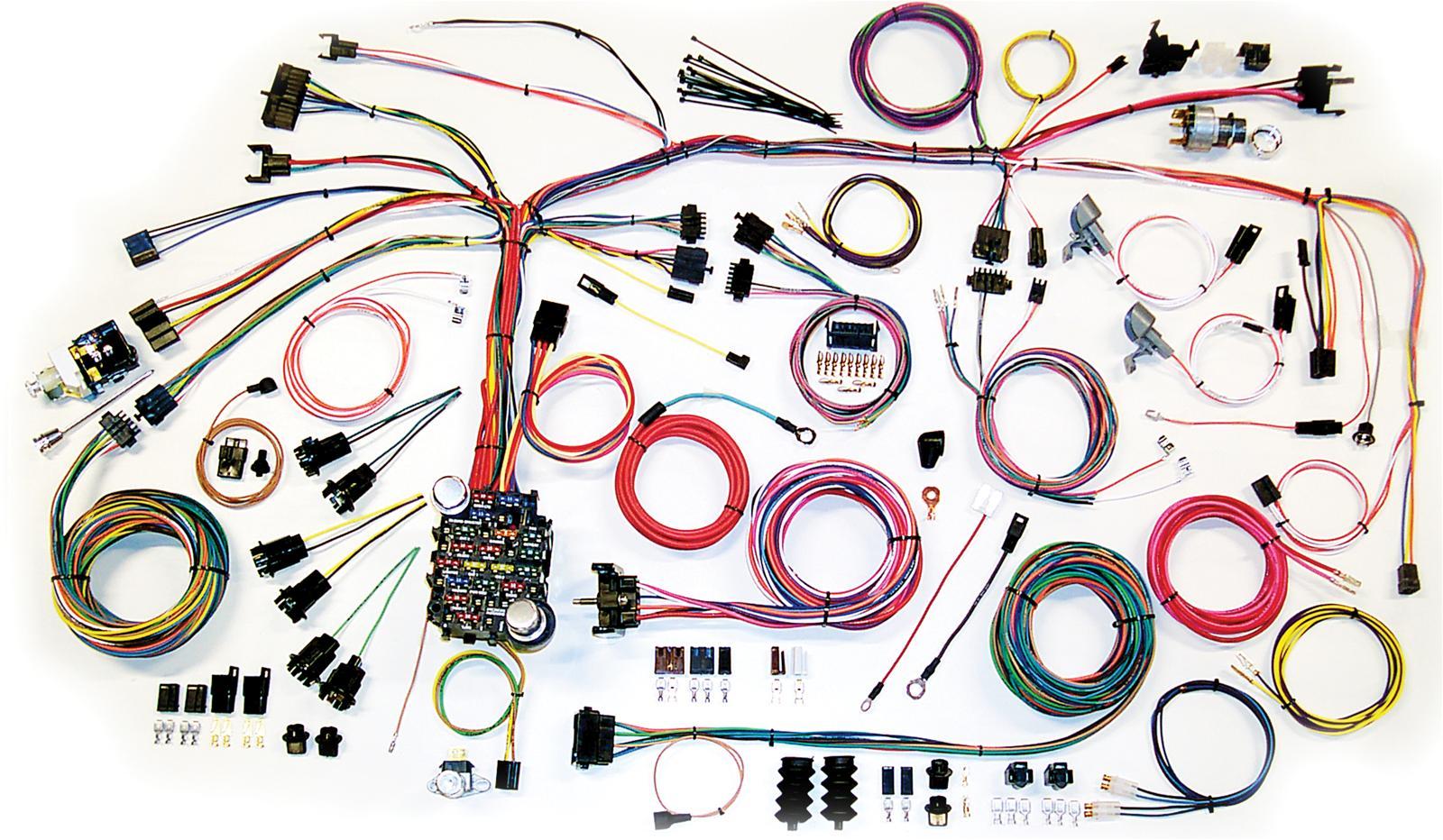 Terrific Mustang Wiring Harness Kits Basic Electronics Wiring Diagram Wiring Cloud Grayisramohammedshrineorg