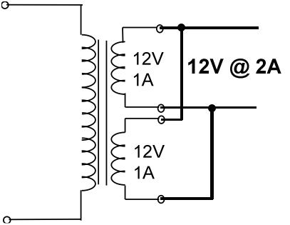 Groovy Wiring Transformers In Series Basic Electronics Wiring Diagram Wiring Cloud Hisonepsysticxongrecoveryedborg