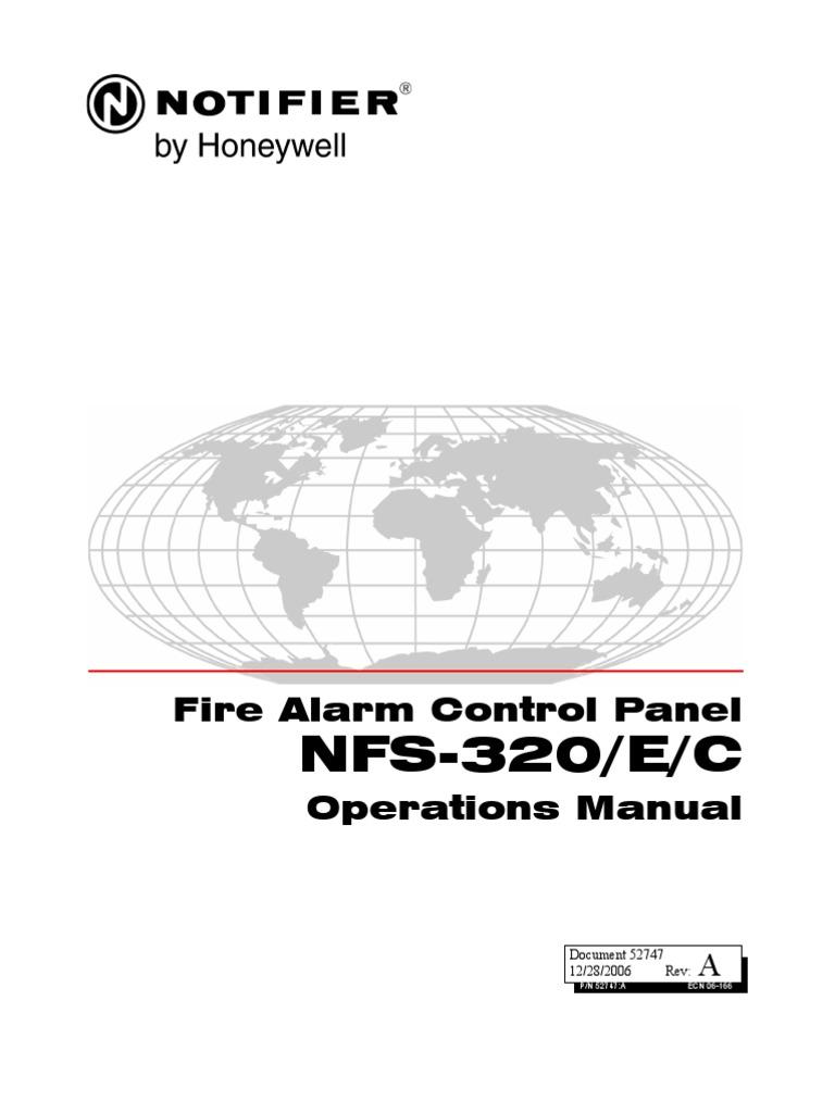 Prime Notifier Nfs 320 Operations Manual Rev A Electrical Engineering Wiring Cloud Hemtegremohammedshrineorg