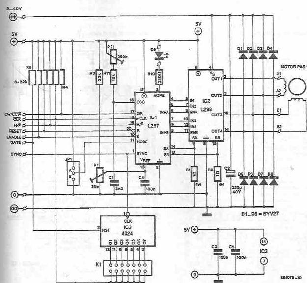 Cool Stepper Motor Circuit Page 3 Automation Circuits Next Gr Wiring Cloud Vieworaidewilluminateatxorg