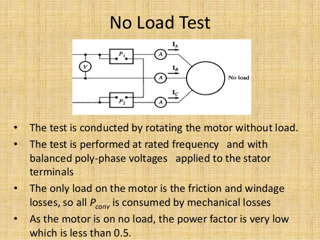 Load Test On Three Phase Squirrel Cage Induction Motor ...
