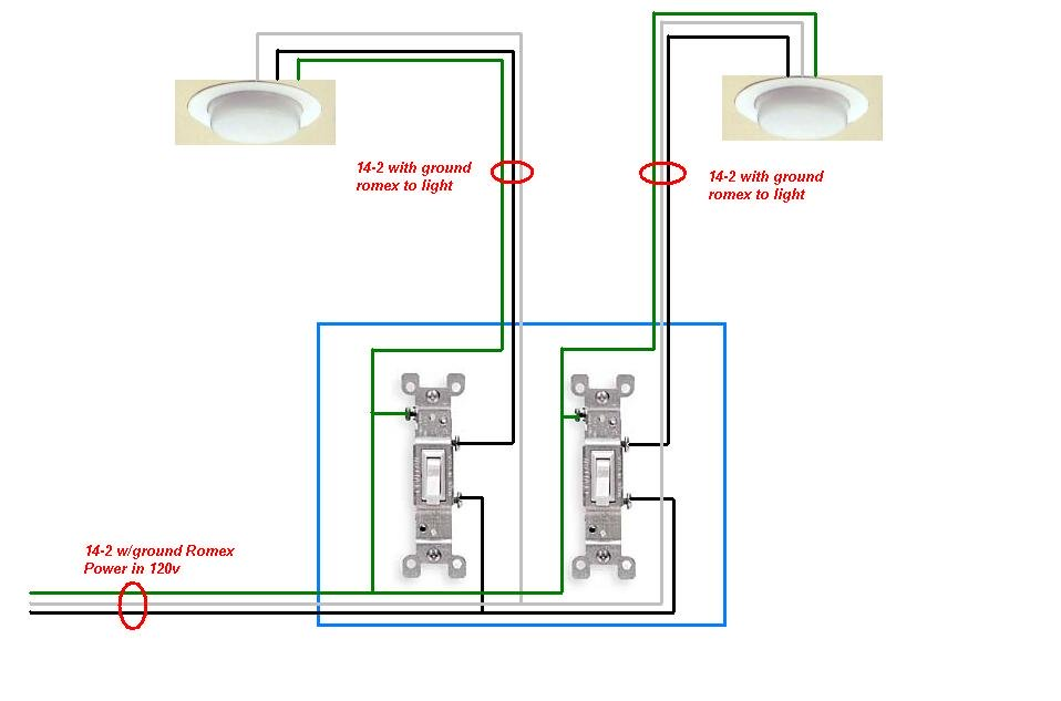eh1886 2 single pole switch wiring diagram free diagram