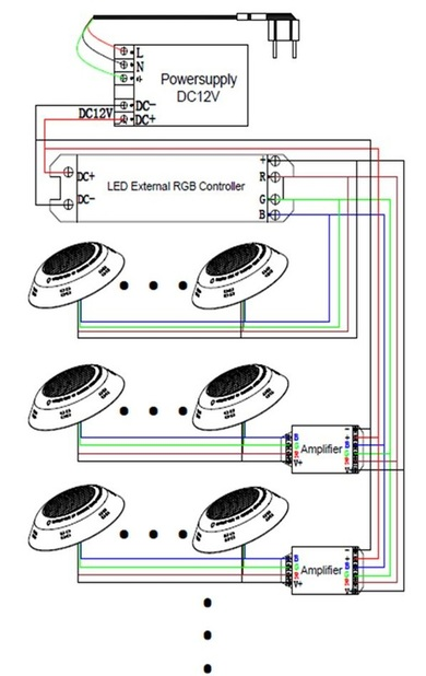Swimming Pool Light Wiring Diagram