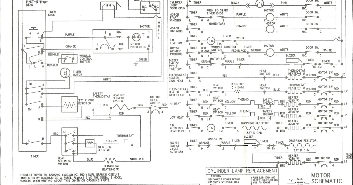 Kenmore Oasis Washer Wiring Diagram
