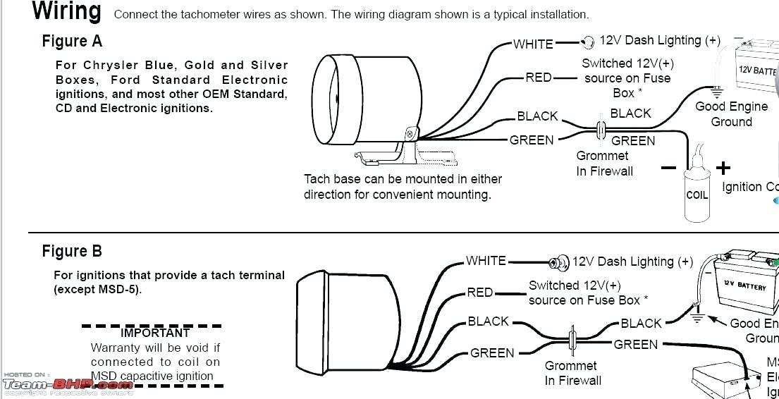 Equus Tachometer Wiring, Sunpro Tach Wiring Diagram