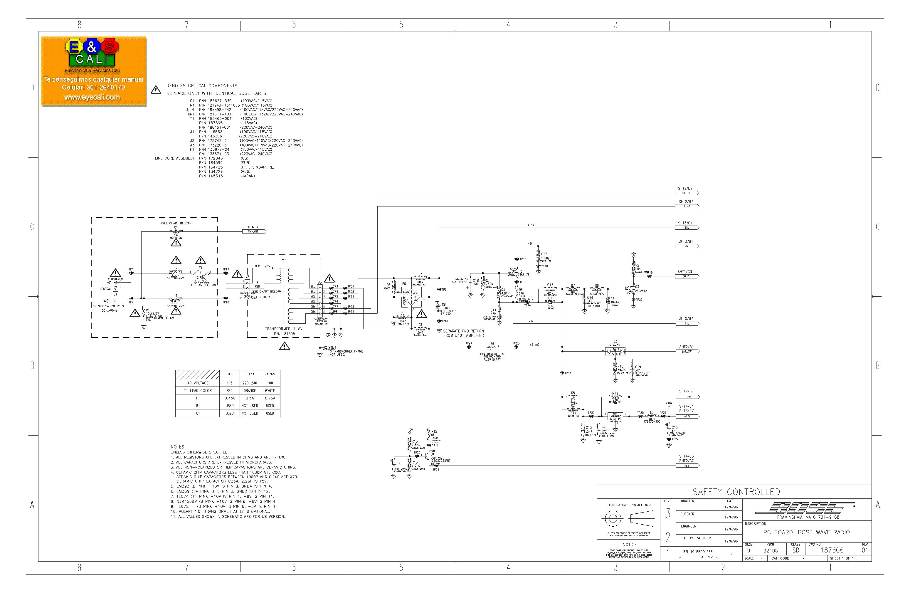 Bose Service Schematics -Cold Room Wiring Diagram Pdf   Begeboy Wiring  Diagram SourceBegeboy Wiring Diagram Source
