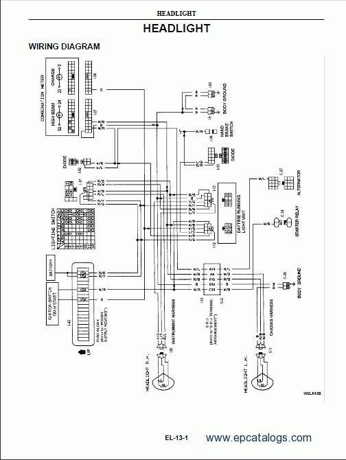 Prime Nissan Wiring Diagrams Nissan Wiring Diagram Nissan Image Wiring Wiring Cloud Waroletkolfr09Org
