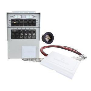 Enjoyable Reliance Controls 30 Amp 10 Circuit Manual Transfer Switch 310A Wiring Cloud Picalendutblikvittorg