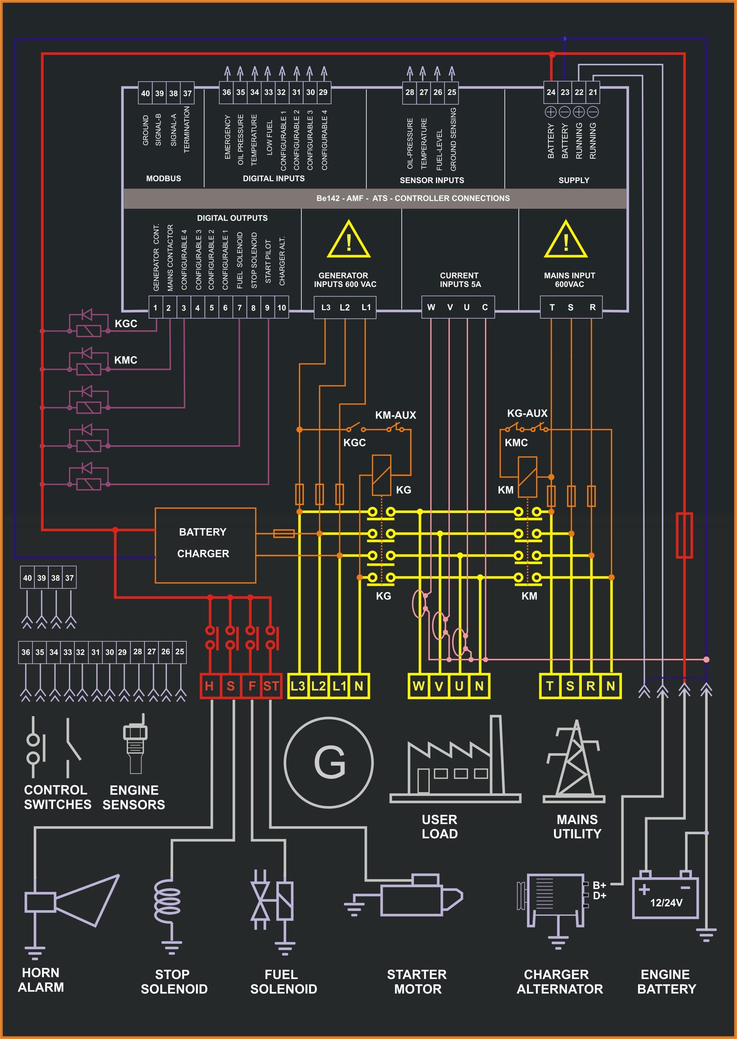 free download gax30 wiring diagram ch 7771  amf control panel circuit diagram pdf bek3 controller  amf control panel circuit diagram pdf