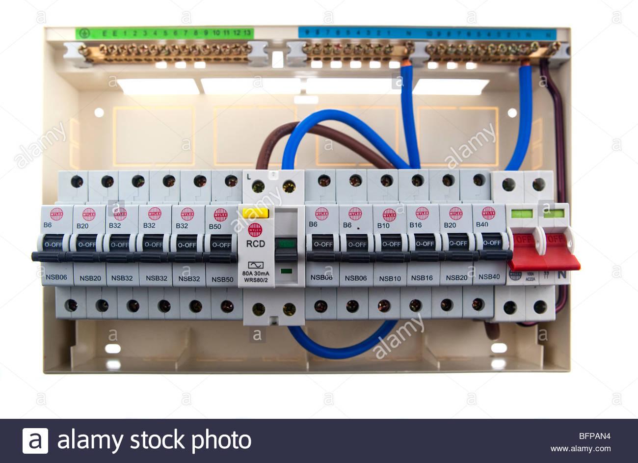 Consumer Unit Wiring Diagram Split Load