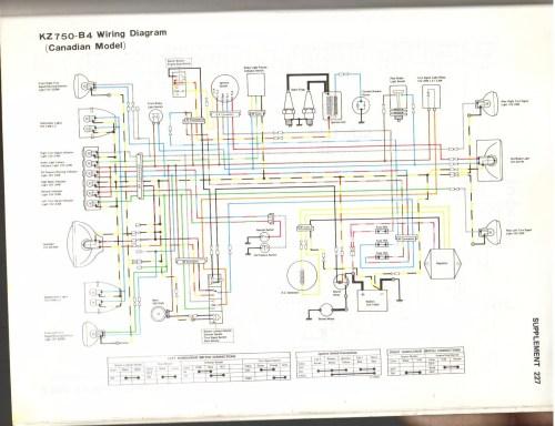 kawasaki kz650 wiring diagram free download schematic